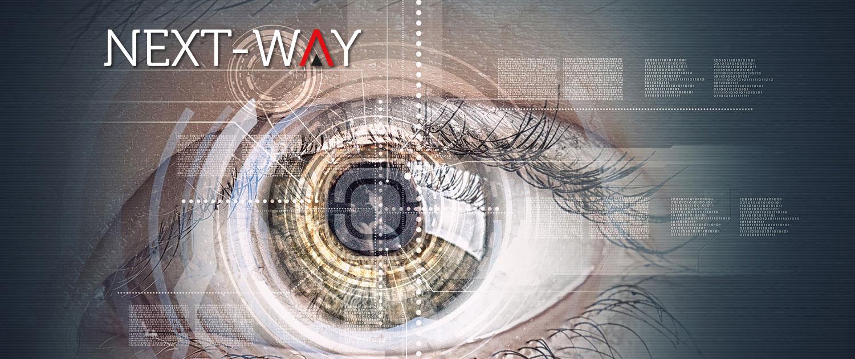 Banner du site web de la société Next-Way