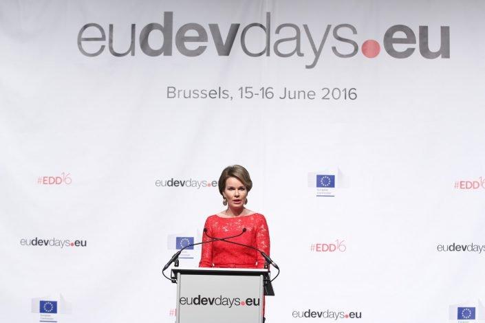 eudevdays - HM Mathilde, the Queen of Belgians