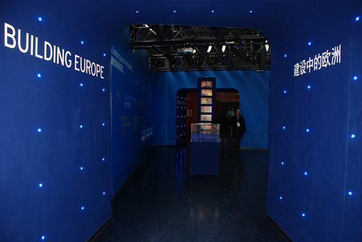 textile adhésif - Expo Universelle Shanghai pavillon Cee