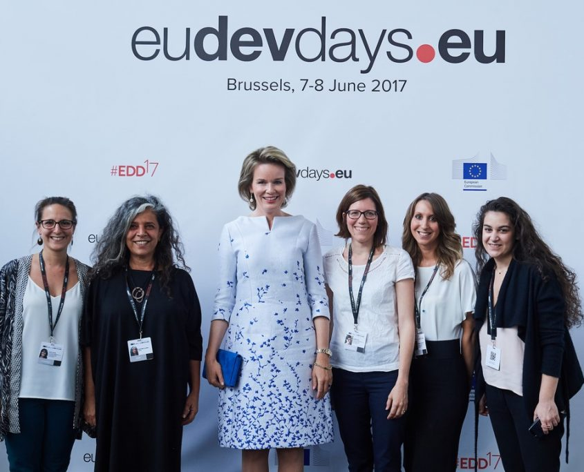 #EDD17 Majesty Queen Mathilde & EU Team