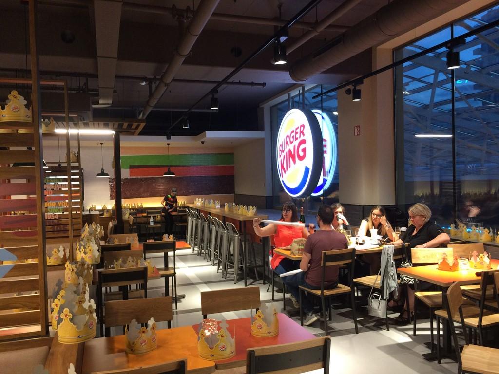 burger king charleroi rive gauche ouverture au public
